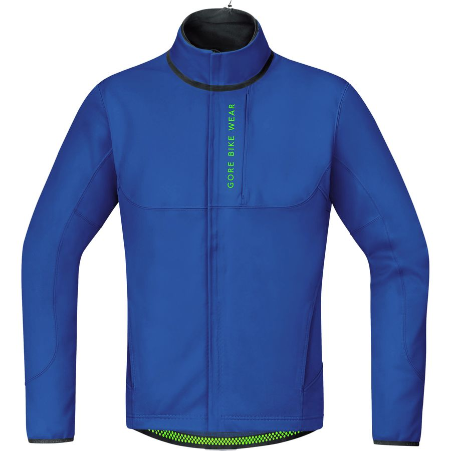 570901875 Gore Bike Wear - Power Trail WS SO Thermo Jacket - Men s - Brilliant Blue