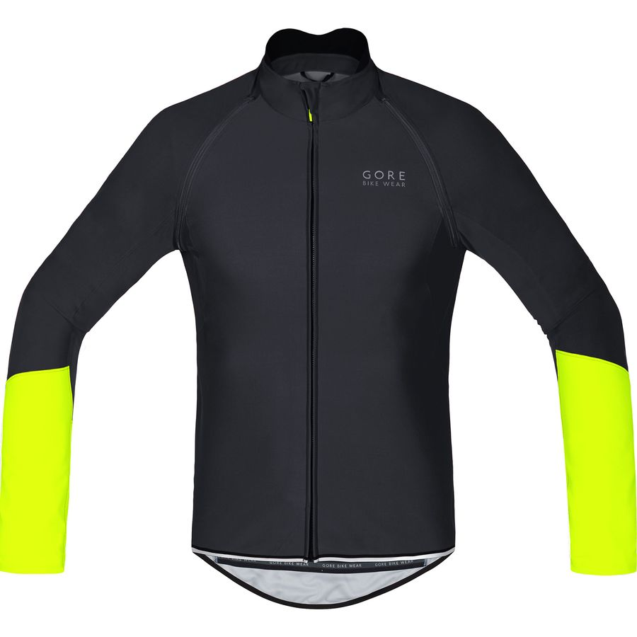 Gore Bike Wear - Power Windstopper Softshell Zip-Off Jersey - Men s - Black  d3415f9b8