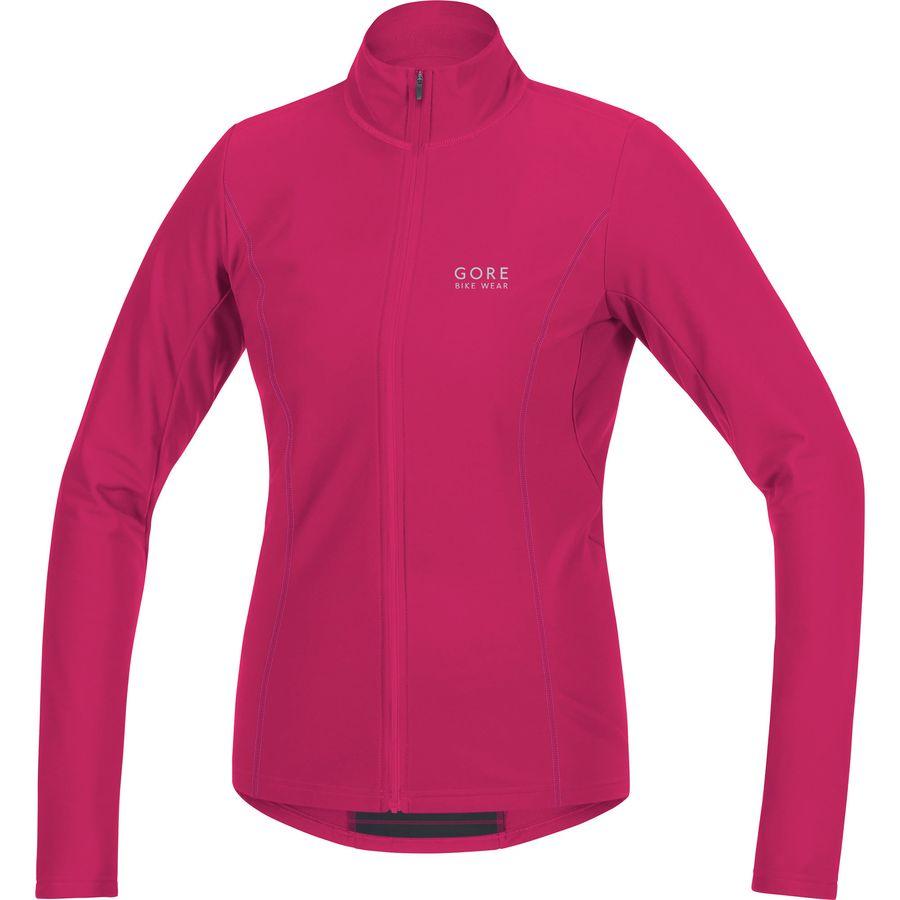 Gore Bike Wear - Element Lady Thermo Jersey - Women s - Jazzy  Pink Raspberry Rose 2e819d021