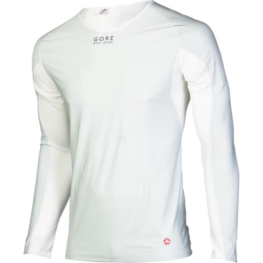 Gore Bike Wear - Baselayer Windstopper Long-Sleeve Shirt - Men's - Light  Grey/