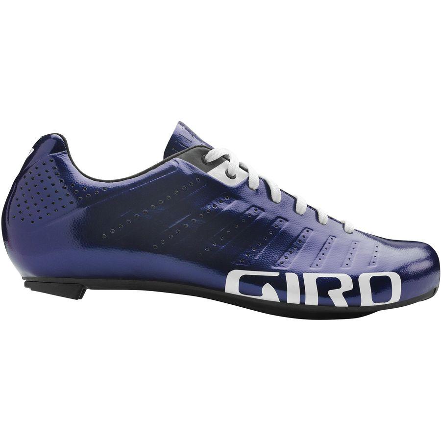 Giro Empire SLX Ultraviolet White Road Bike Shoes Size 40.5