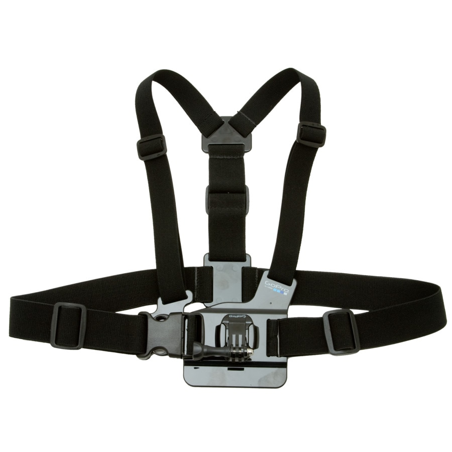 Gopro chest mount harness for Gopro fishing mounts