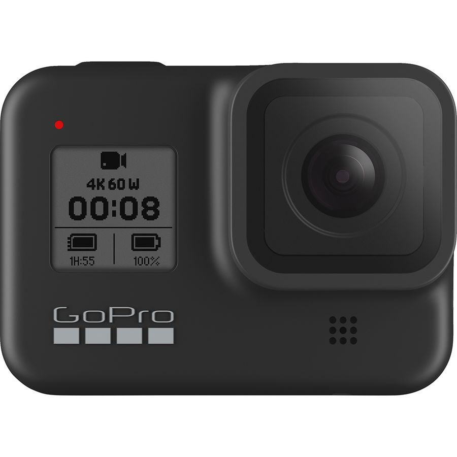 GoPro - HERO8 Black Specialty Bundle + SD Card - Black