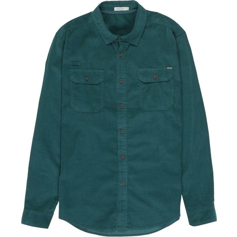Gramicci Knock On My Door Cord Solid Shirt - Mens