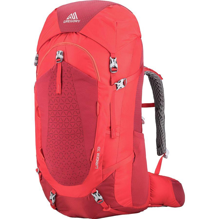 d26b94387a89 Gregory - Wander 70L Backpack - Kids  - Fiery Red