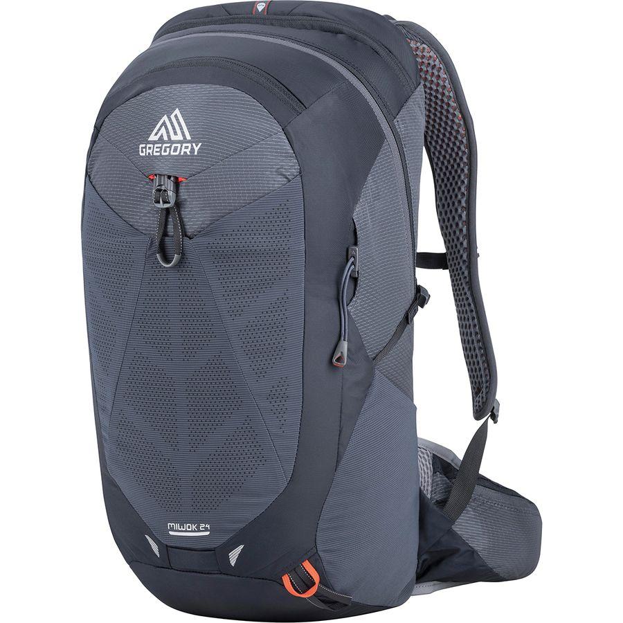 Gregory - Miwok 24L Backpack - Flame Black