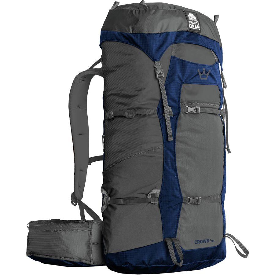 09d853ac12 Granite Gear - Crown2 38L Backpack - Flint Midnight Blue