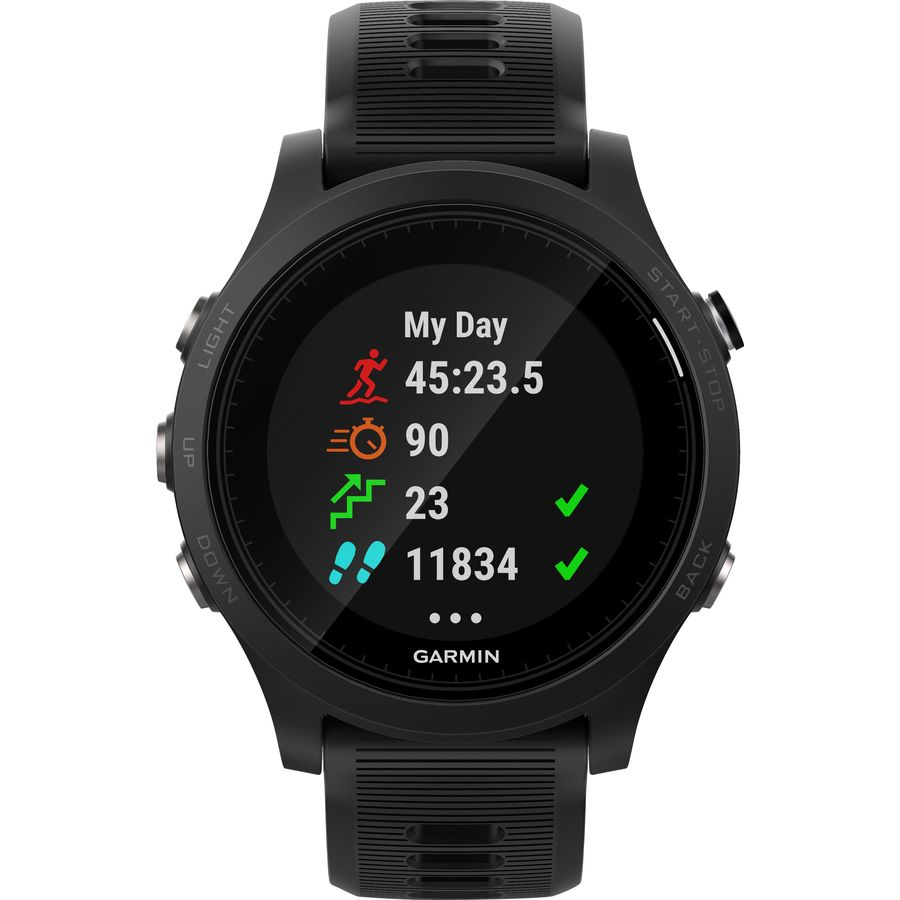 daf25d159 Garmin - Forerunner 935 GPS Watch - Black Black Band