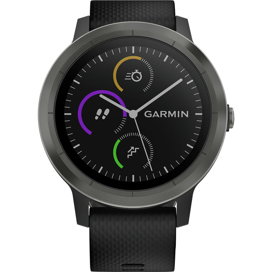 Garmin Vivoactive 3 Vivosmart Hr Medium Purple Black Gunmetal