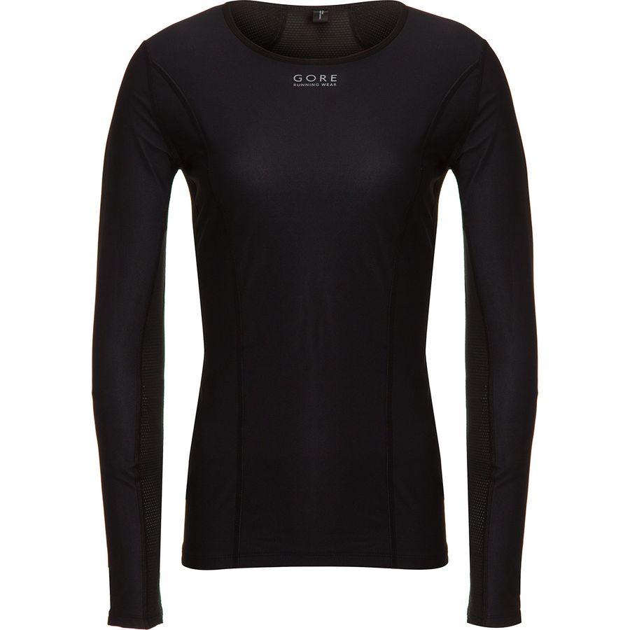 Gore Running Wear - Essential Windstopper Baselayer Top - Women s - Black 741487c25c3