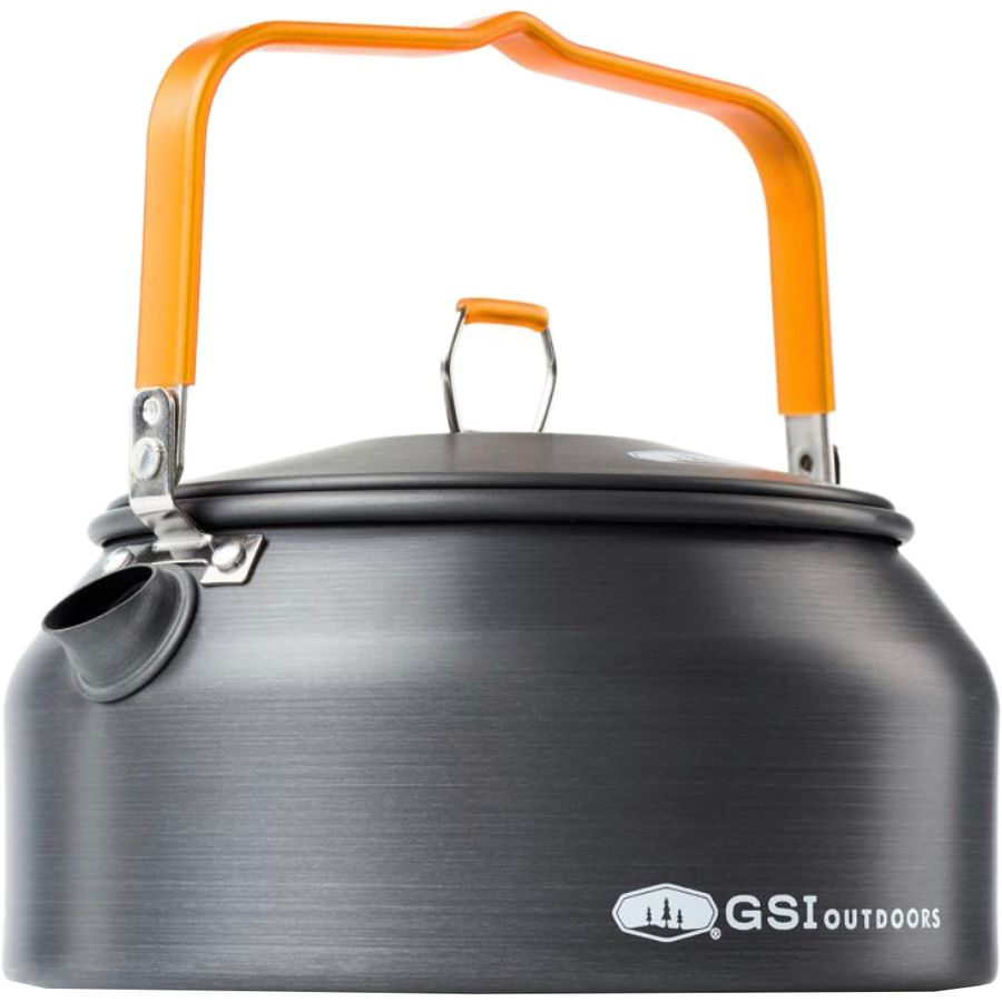 gsi outdoors halulite tea kettle  qt  backcountrycom - gsi outdoors  halulite tea kettle  qt  anodized