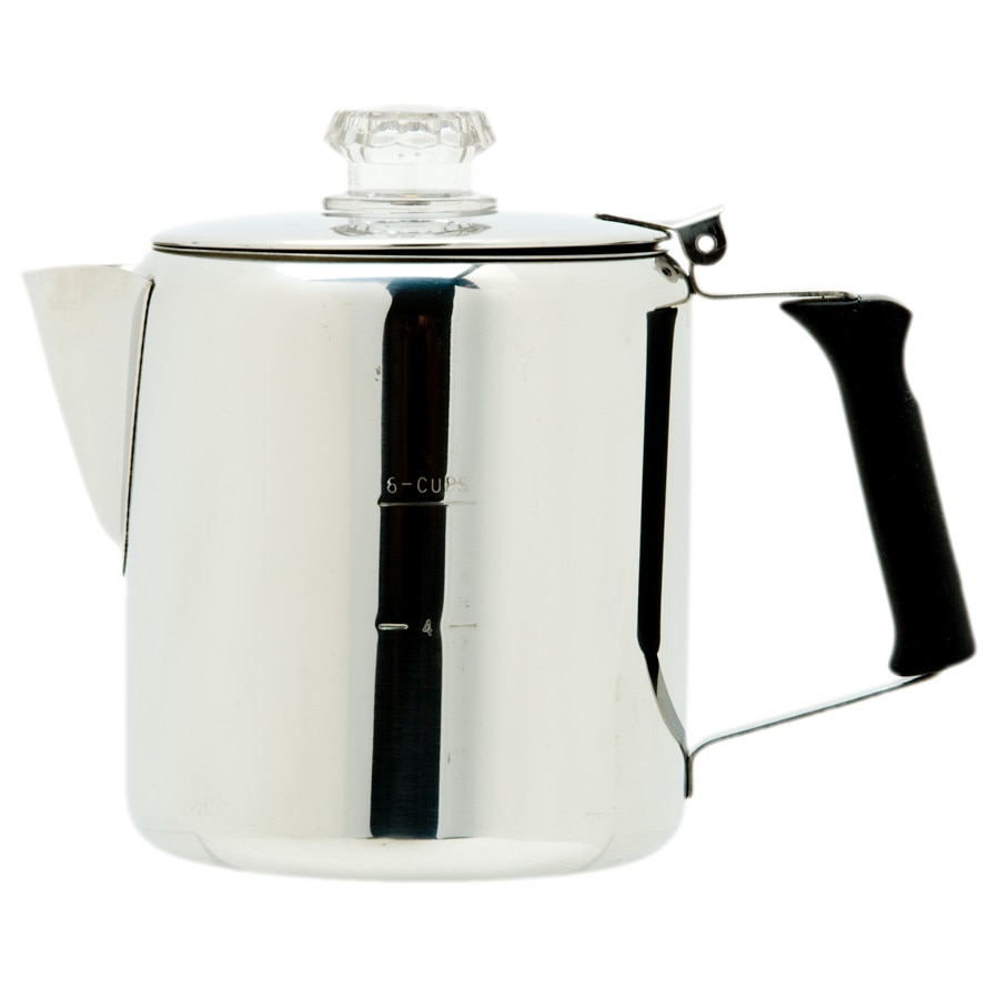 Gsi Outdoors Glacier Stainless Percolator One Color