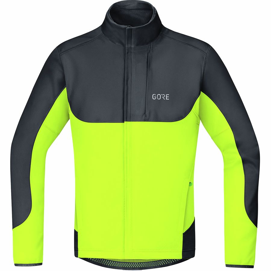 gore wear herren windstopper thermo jacke