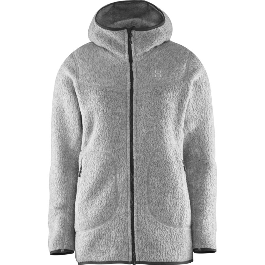 Haglöfs Pile Hooded Fleece Jacket - Women's | Backcountry.com