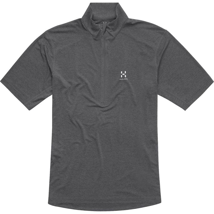 Haglöfs Ridge II 1/2-Zip Shirt - Short-Sleeve - Mens