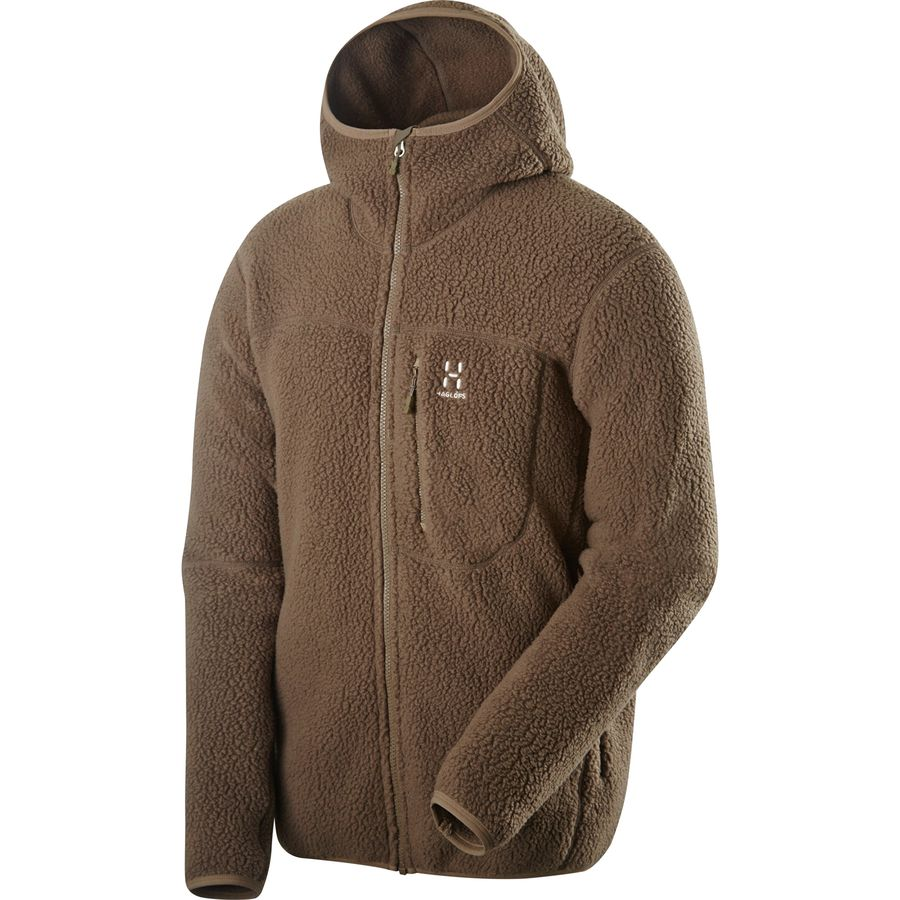 Haglöfs Pile Hooded Fleece Jacket - Mens