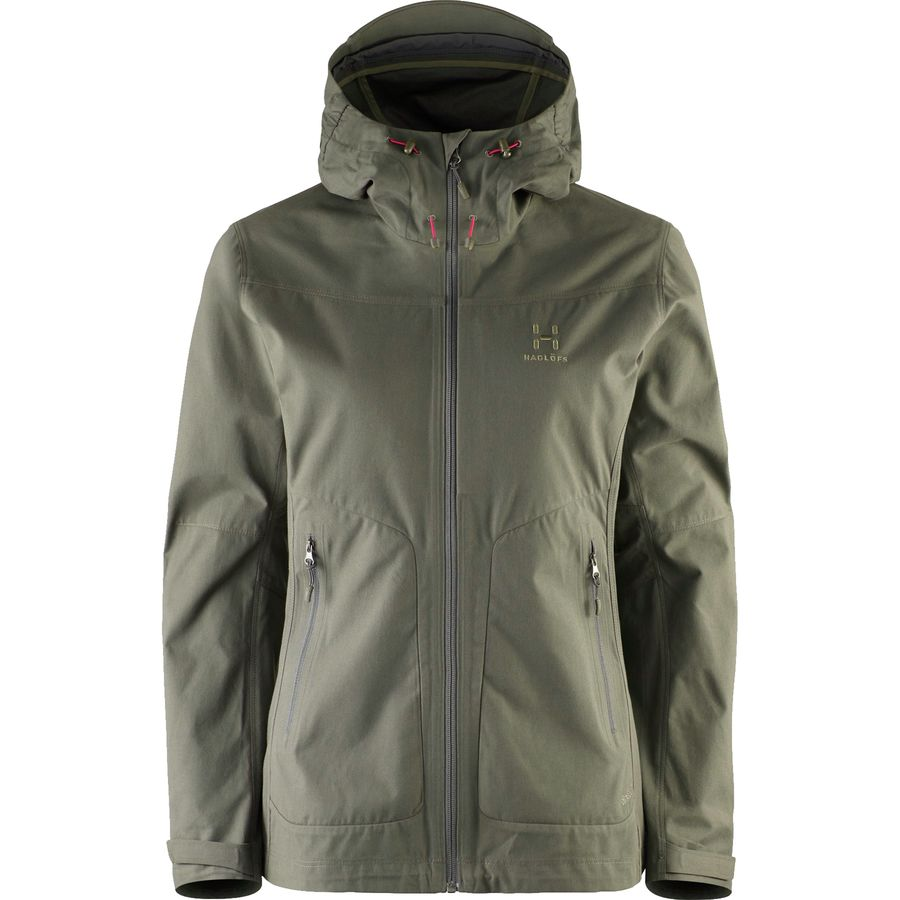 Haglöfs Trail Hooded Jacket - Womens