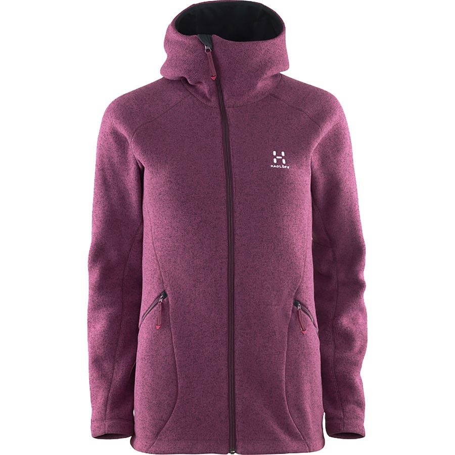 Haglöfs Saga Hooded Fleece Jacket - Womens
