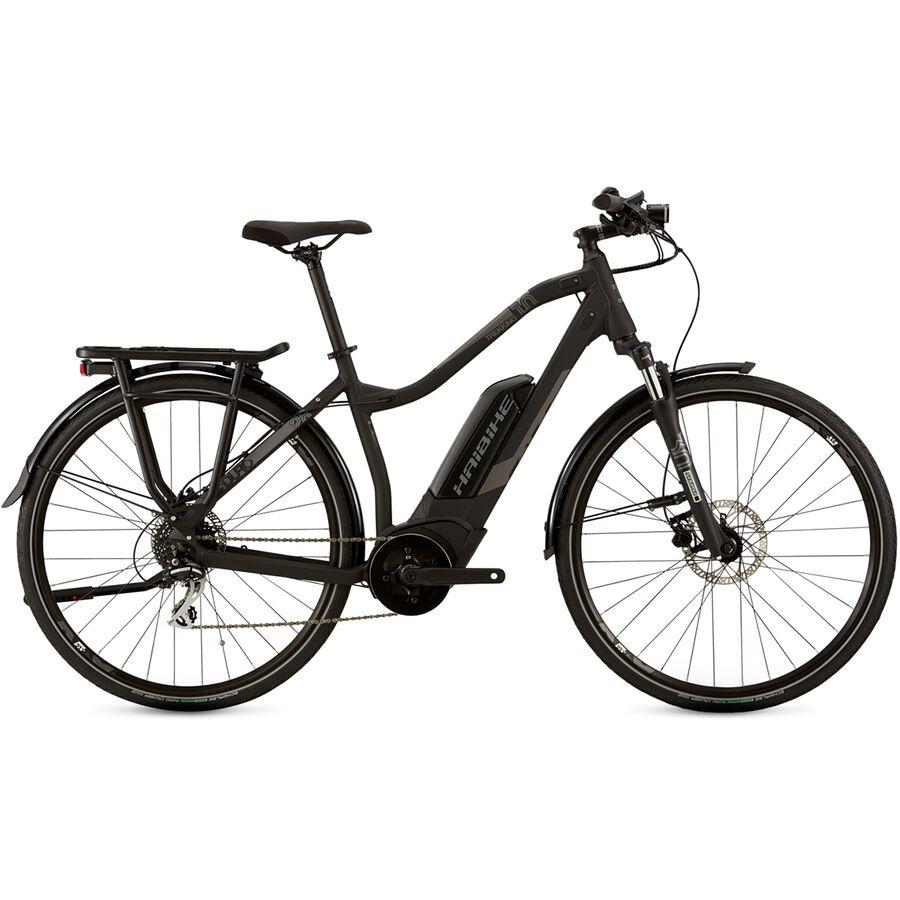 Haibike - Trekking 1 Step-Thru e-Bike - Black