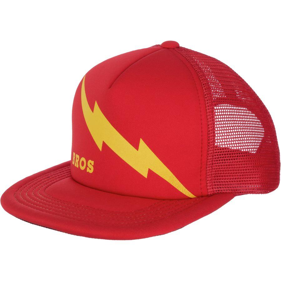Howler Brothers Lightning Bolt Stripes Snapback Trucker Hat