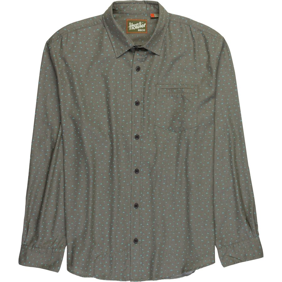 Howler Brothers Enfield Long-Sleeve Button-Down Shirt - Mens