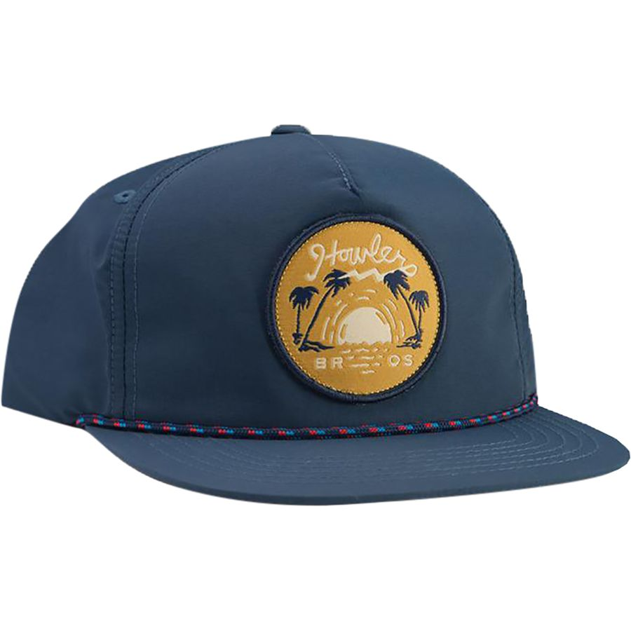 Howler Brothers - Script Sunset Unstructured Snapback Hat - Men s - Navy  Nylon 9ccc8f3c057