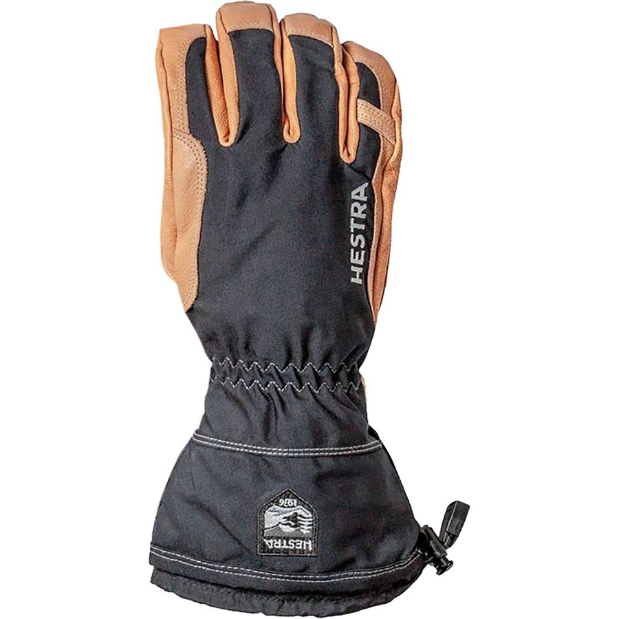 Narvik Wool Terry Removal Liner Leather Mitten Hestra Winter Ski Gloves