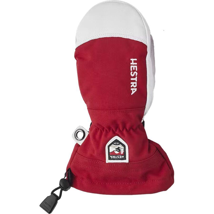 Hestra - Heli Ski Junior Mitten - Kids  - Red b3e55f4c01c5