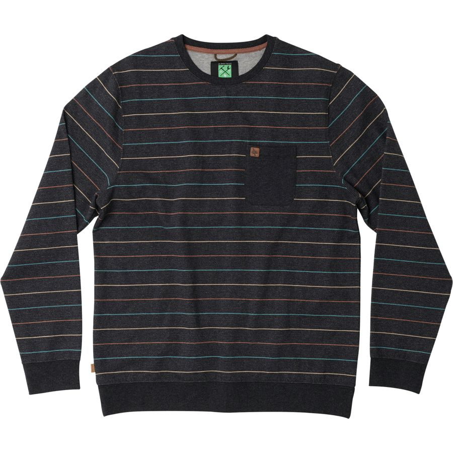 Hippy Tree Costa Crewneck Sweatshirt - Mens