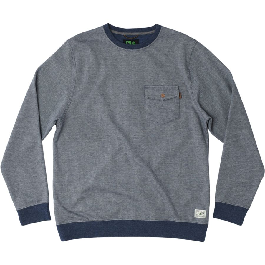 Hippy Tree Darwin Crew Sweatshirt - Mens