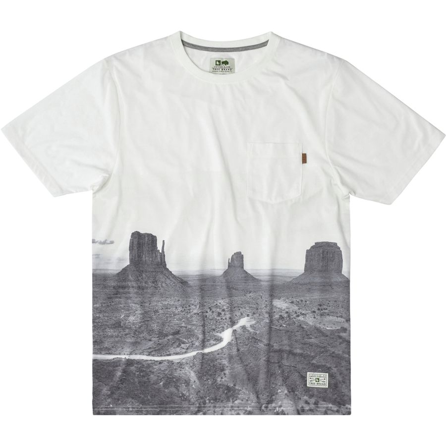 Hippy Tree Plateau T-Shirt - Mens