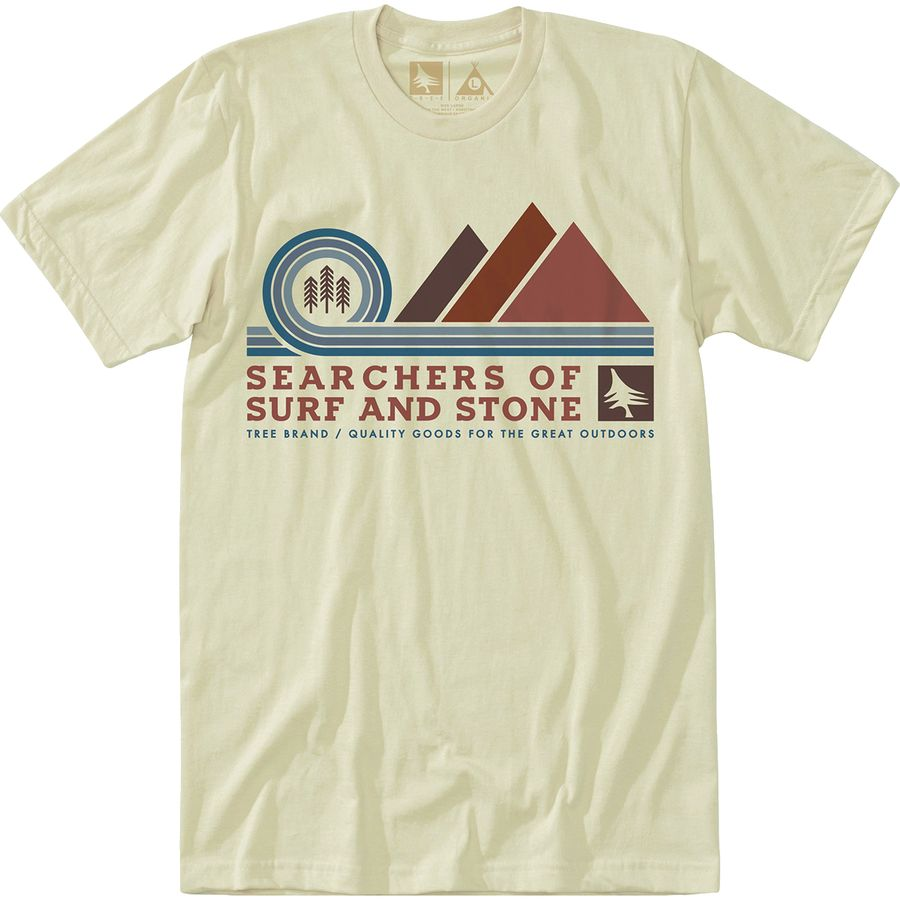 Hippy Tree Pinnacle T-Shirt - Mens