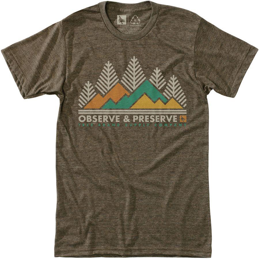 Hippy Tree Heritage T-Shirt - Mens