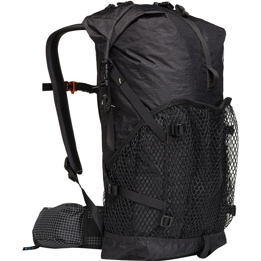 Hyperlite Mountain Gear - 2400 Windrider 40L Backpack - Black 3dc2c0803c