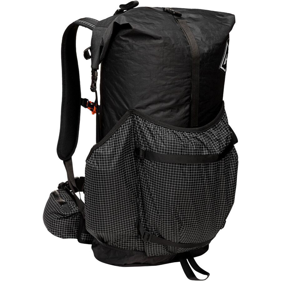 Hyperlite Mountain Gear - 3400 Southwest 55L Backpack - Black 05a40b629566