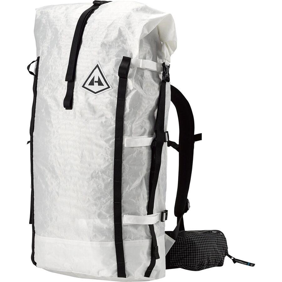Hyperlite Mountain Gear - 4400 Porter 70L Backpack - White b96549e654