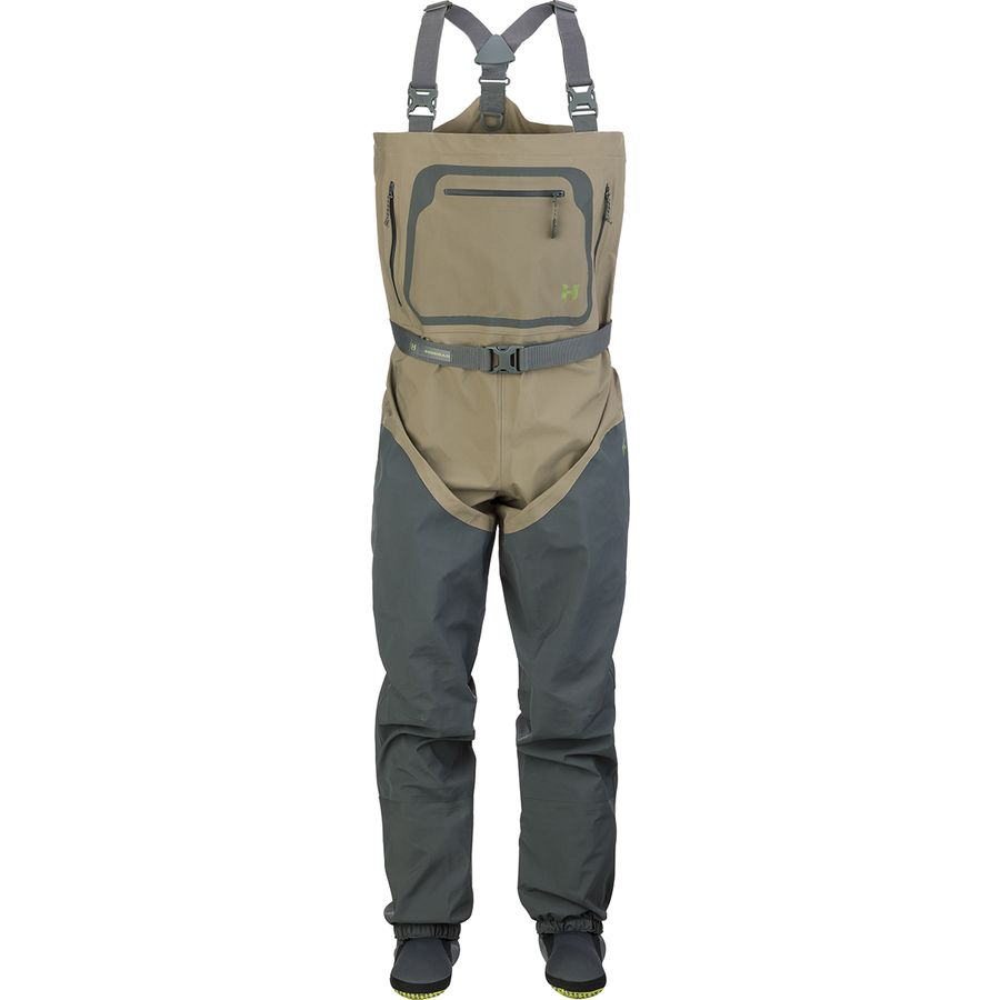 Hodgman h5 wader stocking foot men 39 s for Surf fishing waders