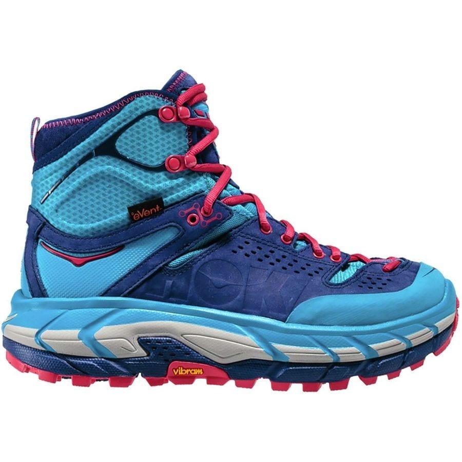 Hoka One One Tor Ultra Hi WP Shoes Women blue jewel / medieval blue US 6,5