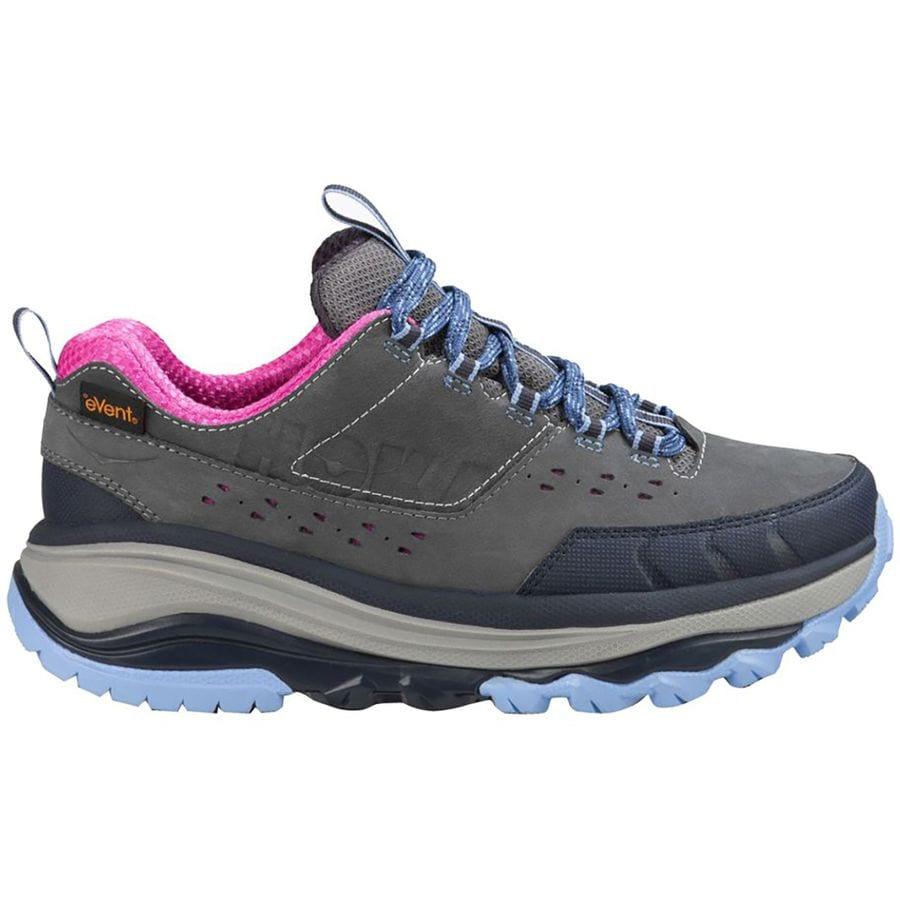 Hoka One One Tor Summit WP Hiking Shoe Womens Steel GreyHydrangea