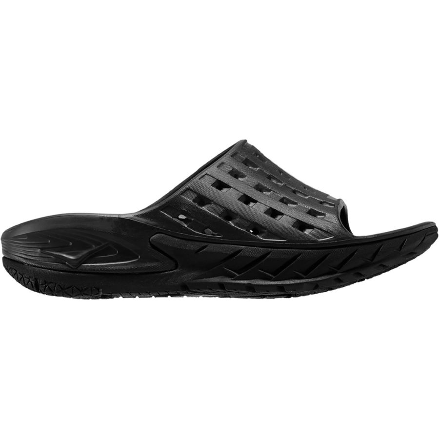 ora men Hoka one one men's ora recovery slide puts hoka's oversized midsole and meta-rocker into a sandal with strategic groove placement for comfort and traction.
