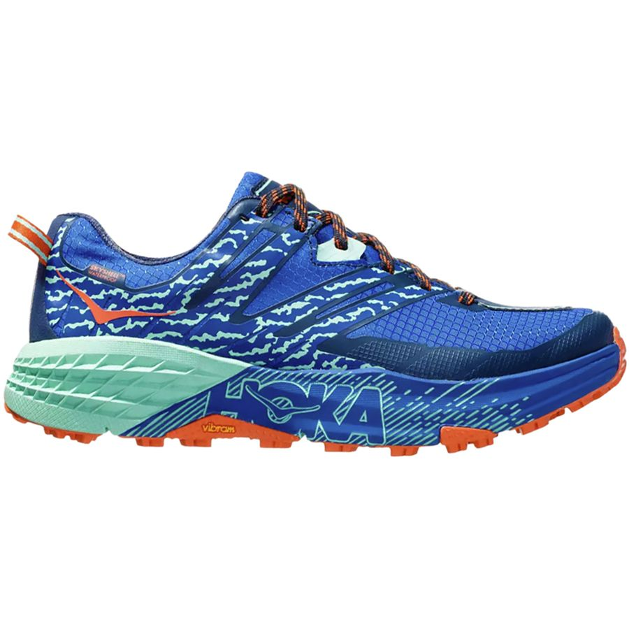 HOKA ONE ONE - Speedgoat 3 Waterproof Trail Running Shoe - Women s -  Soadlite Blue  d420b97521