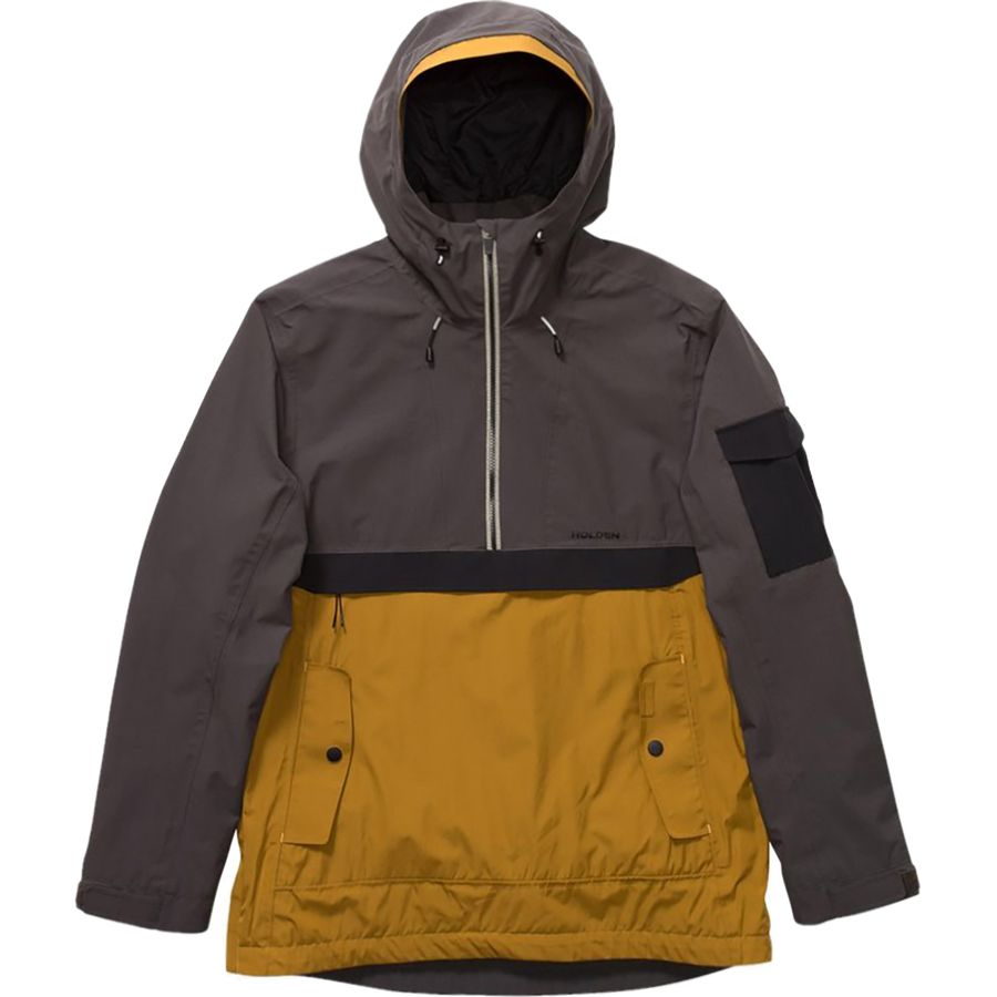 Holden - Scout Anorak Jacket - Men's - Shadow/Black/Mojave
