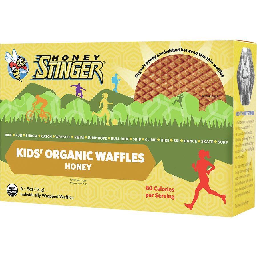 Honey Stinger Kids Gluten Free Organic Waffles - 6-Pack