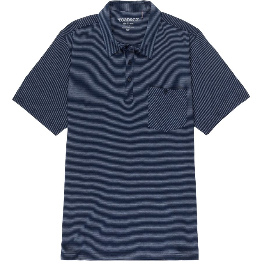 Toad&Co Embarko Polo Shirt - Mens