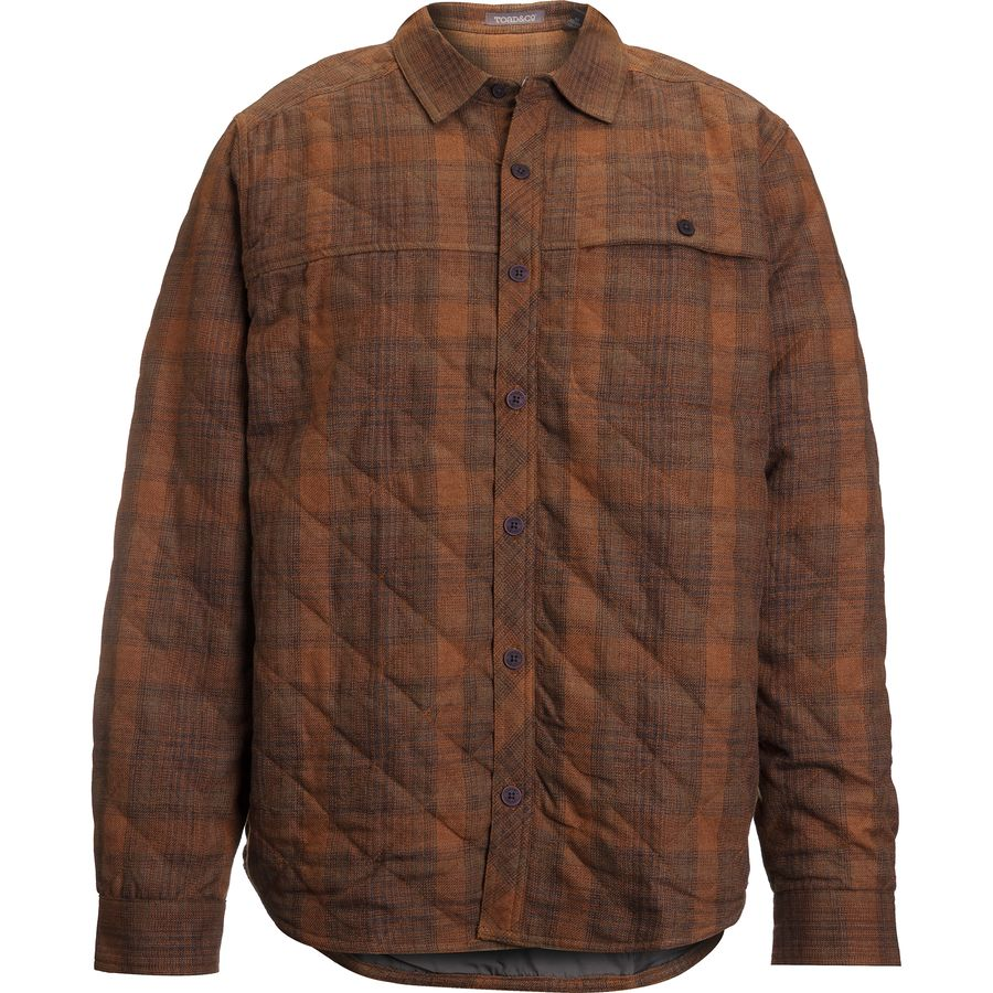 Toad&Co Kodiak Quilted Overshirt - Mens