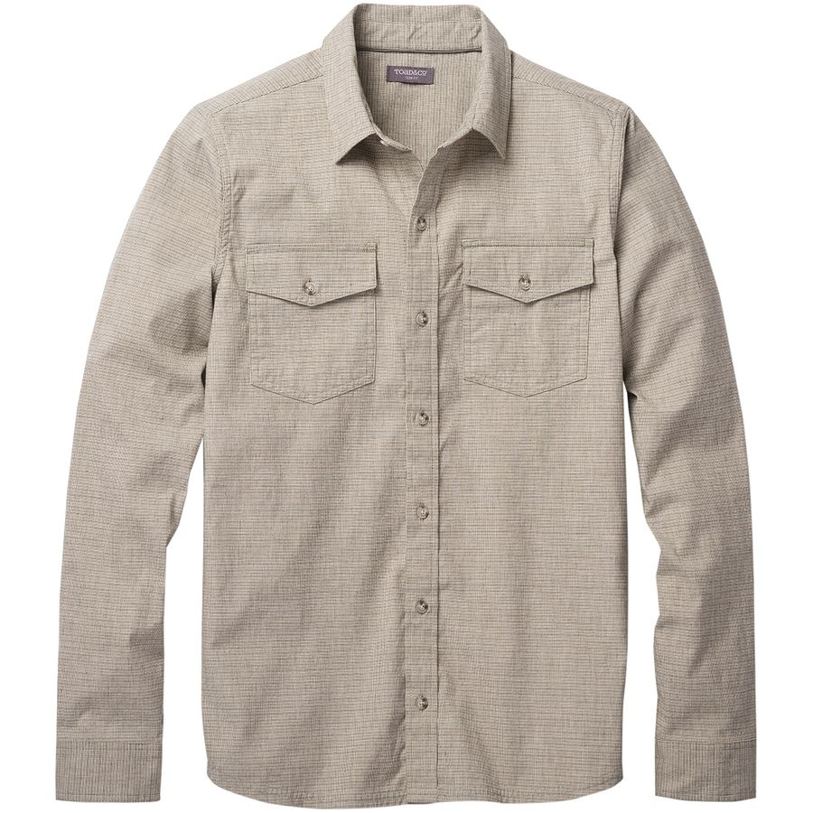 Toad&Co Oxford Vault Slim Long-Sleeve Shirt - Mens