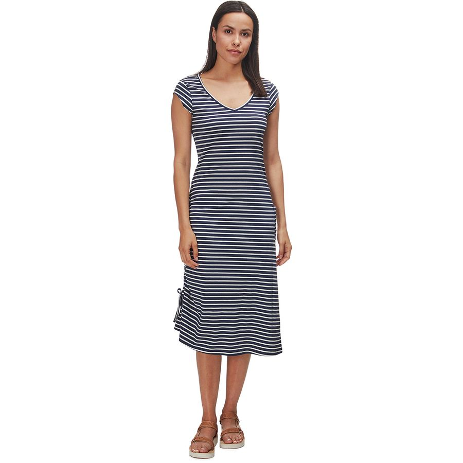 9638a15cd Toad&Co - Muse Dress - Women's - Deep Navy Balanced Stripe
