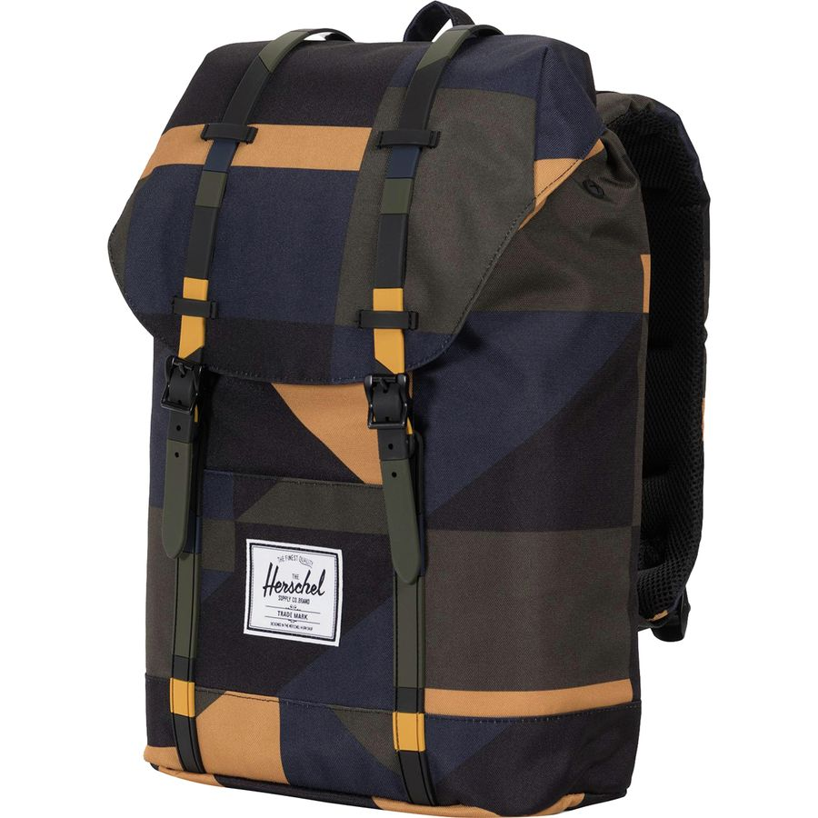 405f3efc49f2 Herschel Supply - Retreat 19.5L Backpack - Arrowwood Frontier Geo