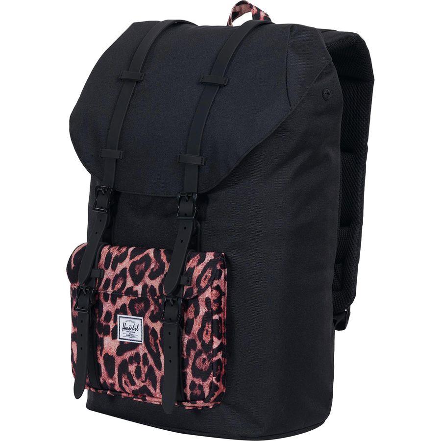 ad96852ce Herschel Supply - Little America 25L Backpack - Black/Desert Cheetah