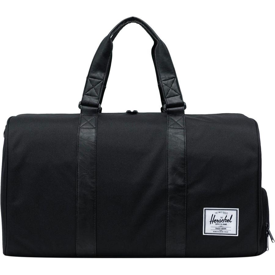 baedb698ca95 Herschel Supply - Novel 42.5L Duffel - Black Black Synthetic Leather